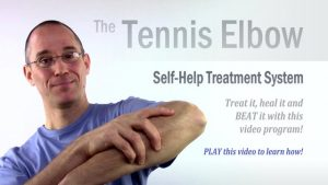 Home Treatment program for Tennis Elbow
