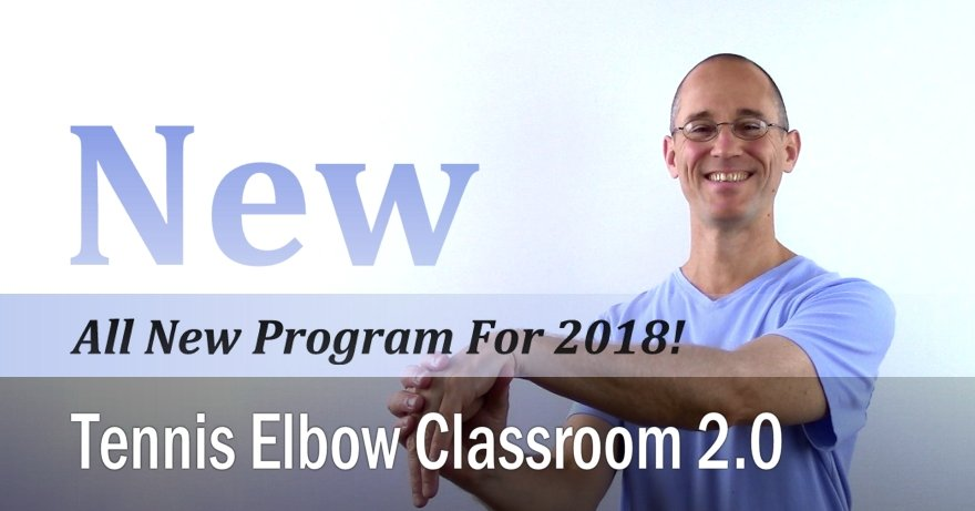 Learn more about the Tennis Elbow program