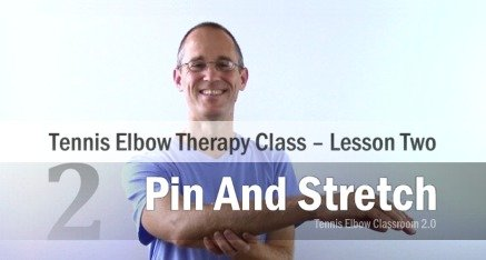 Tennis Elbow Therapy Class Module