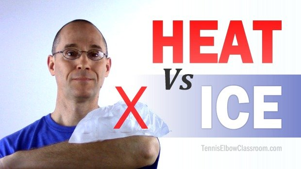 Should you put ice or heat on your Tennis Elbow?