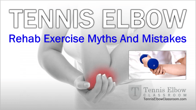Tennis Elbow Exercises: What If They Make Your Tennis ...