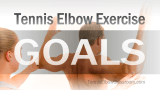Video Poster Image: Tennis Elbow Exercise Goals