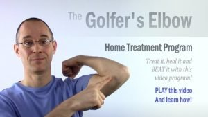 Home Treatment Program for Golfer's Elbow