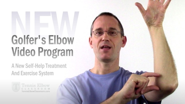 Golfer's Elbow Self-Help Home Treatment And Exercises