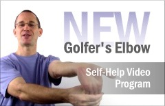 Announcing a new self-help program for Golfers Elbow