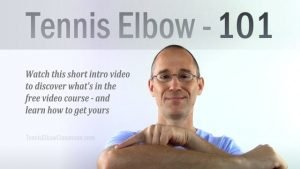How to get 'Tennis Elbow 101' course