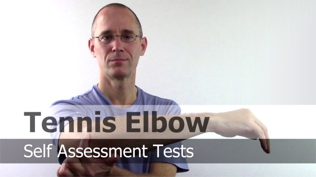 Tennis Elbow Self Test