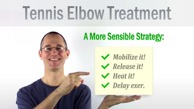 Principles of treatment strategy for Tennis Elbow