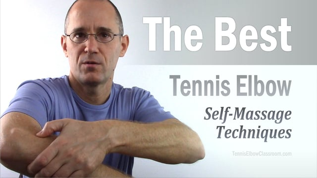 The best Tennis Elbow Self Massage Techniques