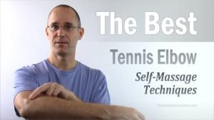 The most effective Self-Massage methods for treating Tennis Elbow