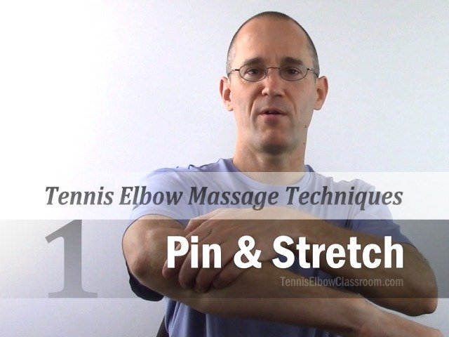 The first self-massage technique is called 'Pin And Stretch'