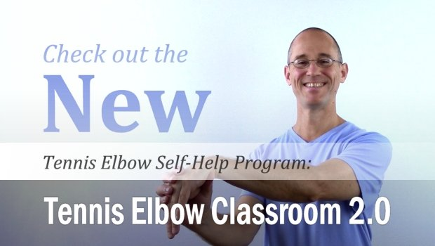 Check out the new Tennis Elbow self-help program