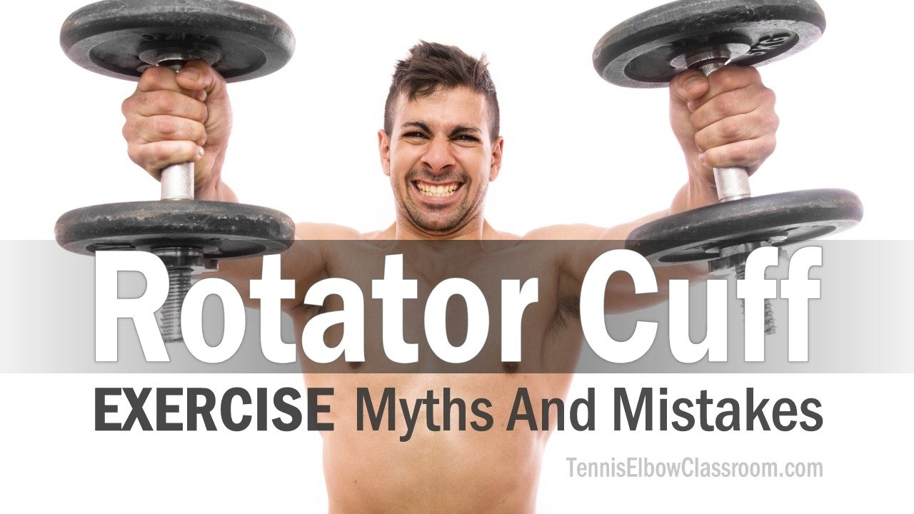 Thumbnail image for 'Rotator Cuff Exercise Myths' video