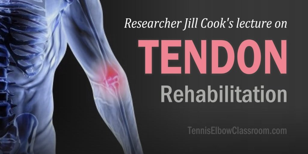 Jill Cook's tendon healing and rehabilitation lecture