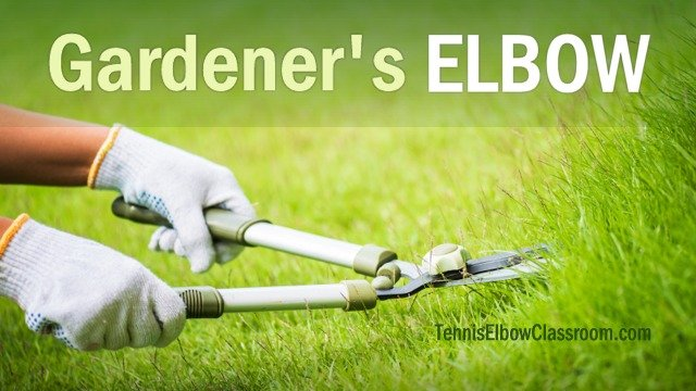 How Gardening Causes Elbow Injury