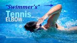 Picture of swimmer: How swimming causes Tennis Elbow